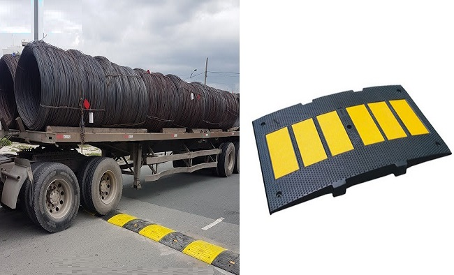 Gờ giảm tốc container